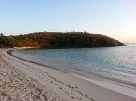 Caneel Bay Resort: Hawksnest Beach sunrise
