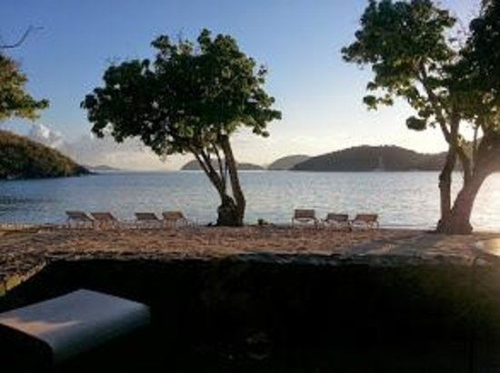Caneel Bay Resort : Sunrise from our patio