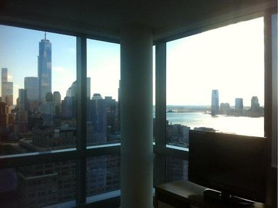 Trump SoHo New York: Corner room with view of WTC1