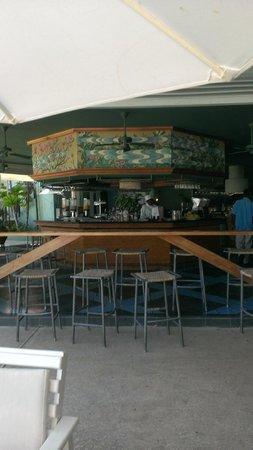 Couples Negril : Patio bar