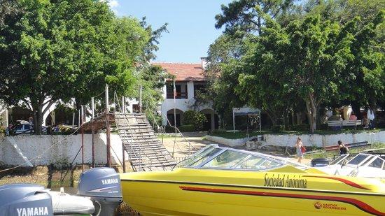 Cabana don Julian : Vista Frontal da Pousada