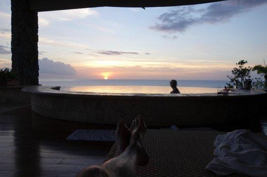 Jade Mountain Resort : Sunset in the Galaxy