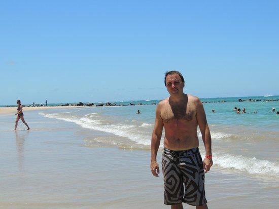 Serrambi Resort: Playa del Hotel.