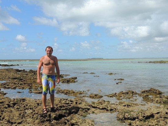 Serrambi Resort: Arrecifes.