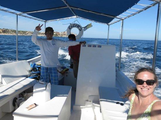 Roger's Glass Bottom Boat Tours: Roger's Staff