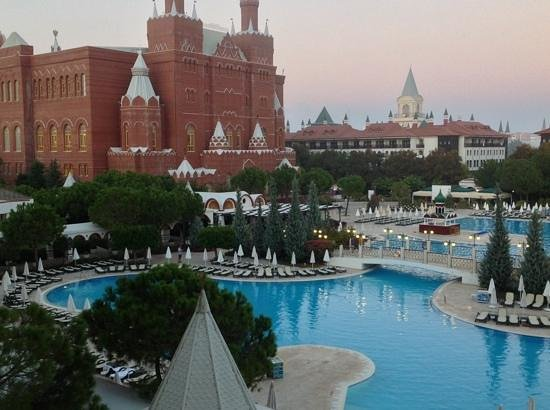 WOW Kremlin Palace: view from our room