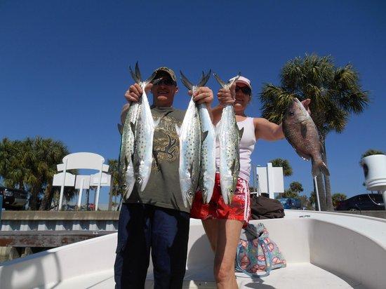 "Tampa Fishing Charters: ""Bay Fishing"""
