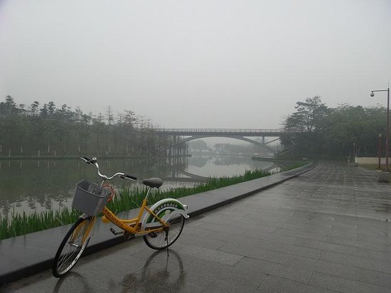 Qiandeng Lake: Taken in March