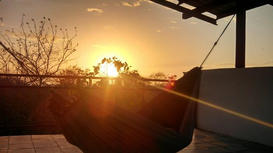 Hotel Brio: Sunset from Hammocks on top of Casa Colorado