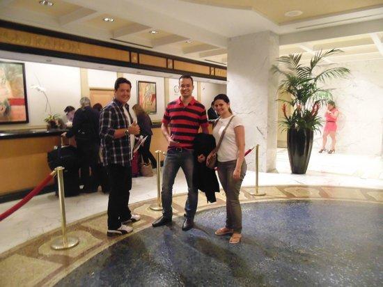 Miami Beach Resort and Spa: Recepção