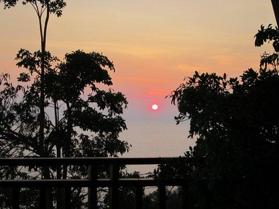 Baan KanTiang See Villa Resort (2 bedroom villas): バルコニーからの眺め
