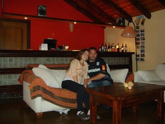 Hosteria Infinito Sur: comedor