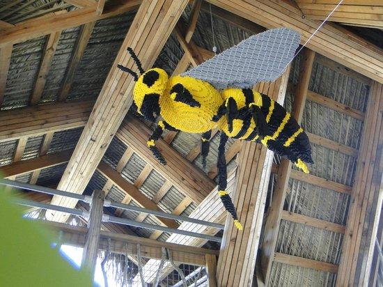 Naples Botanical Garden: Lego Bee
