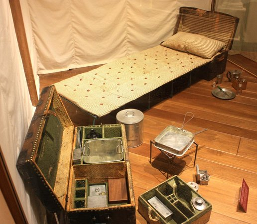 The Henry Ford: George Washington's Cot and Belongings