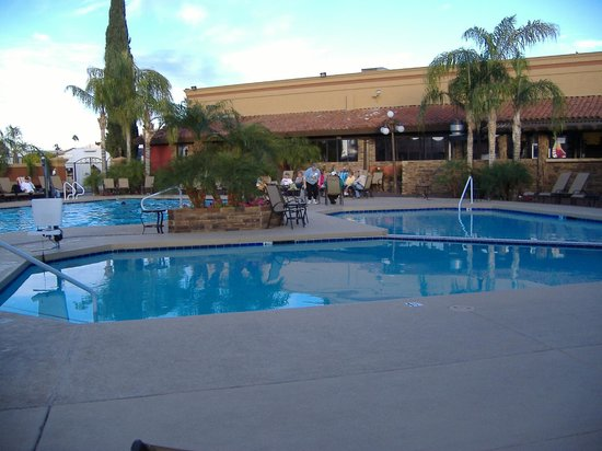 Mesa Regal RV Resort: Three of the pools.