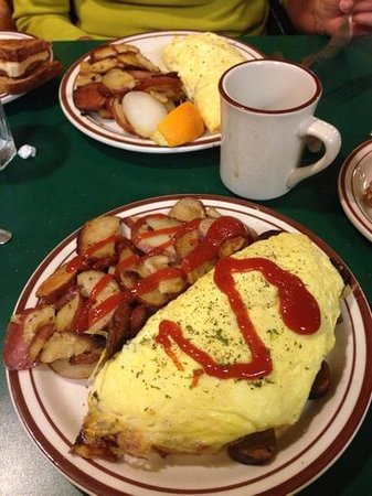 bacon bacon and kale fried rice bacon and fried potato omelette bacon ...