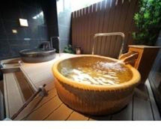 APA Hotel Tokyo Shiomi Ekimae : 大浴場の露天風呂