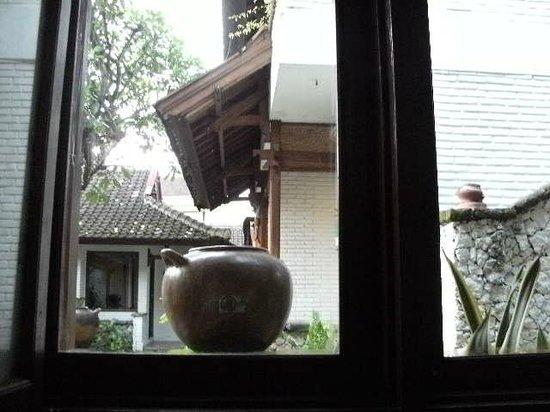 Balisani Padma Hotel: 部屋から庭