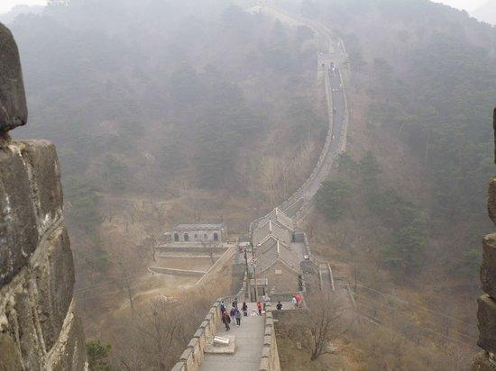 Gran Muralla China en Mutianyu: Barely Visible