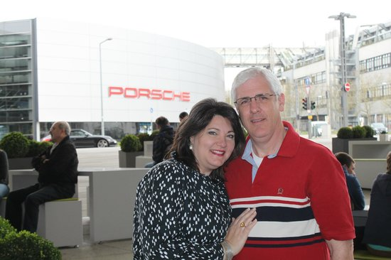 Porsche-Museum: Porsche Factory Tour has to be arranged in advance and is free. There is a charge for the museum