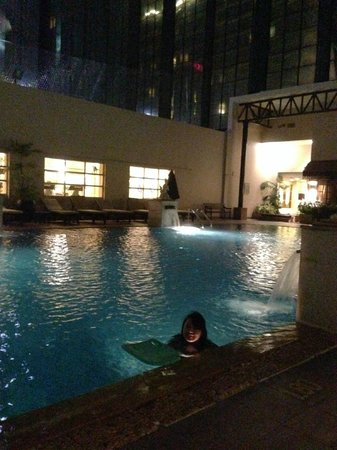 The Sukosol: Pool at night