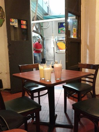 Cafe El Punto : Try the batidos; I liked the Sour Sop.