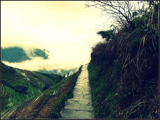 Ping'an Village : lovely trail
