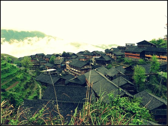 Ping'an Village : village houses