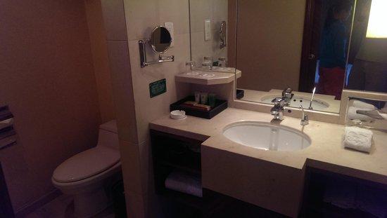 JinJiang Hotel : bathroom
