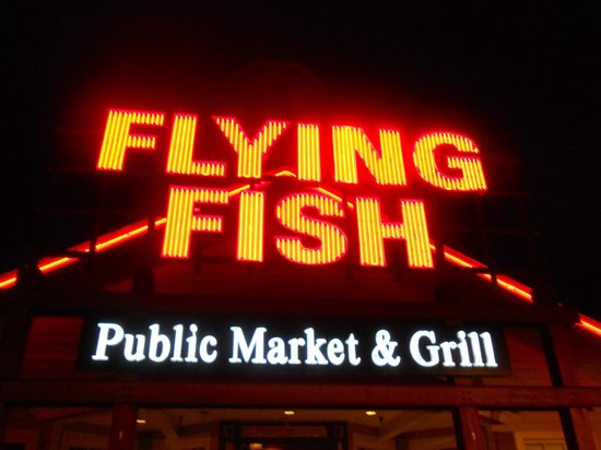 Doin 39 it raw picture of flying fish public market for Flying fish happy hour