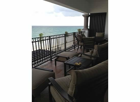 Grand Residences Riviera Cancun : Our terrace