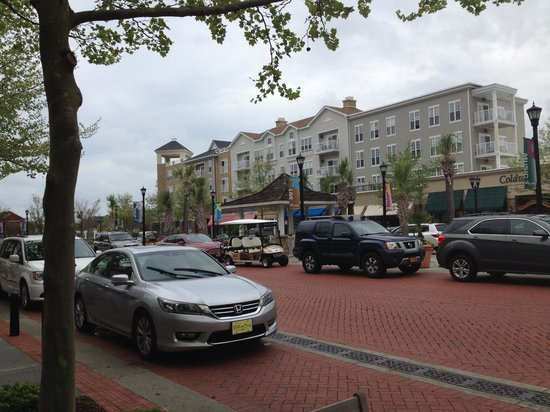 The Market Common: Brick Roadway with Beautiful Construction