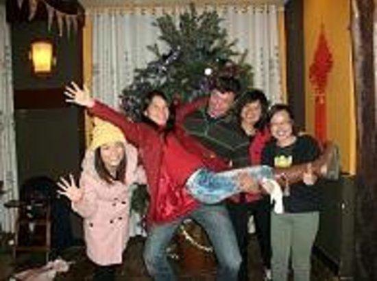 Trippers Carpe Diem Hostel Yangshuo : Christmas Celebrations