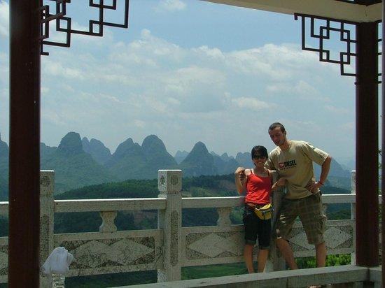 Trippers Carpe Diem Hostel Yangshuo : Yangshuo's beautiful landscape
