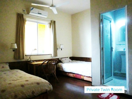 Trippers Carpe Diem Hostel Yangshuo : Private twin room