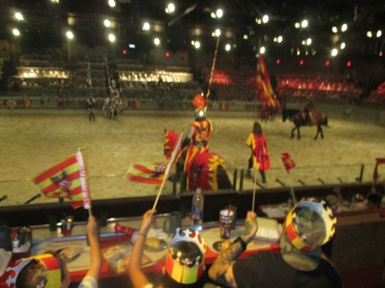 Medieval Times Buena Park: Action in the Arena