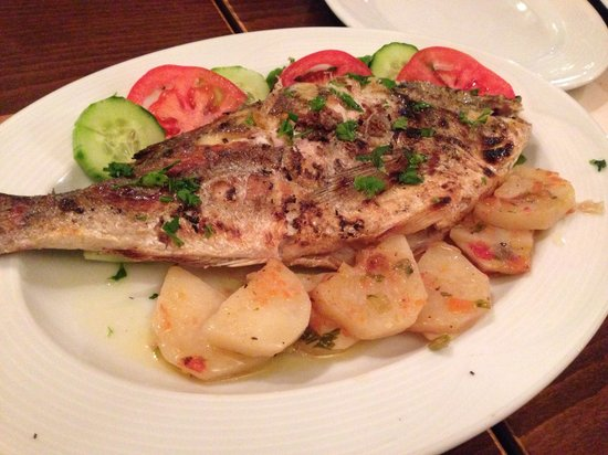 Rodofagia: Grilled fish