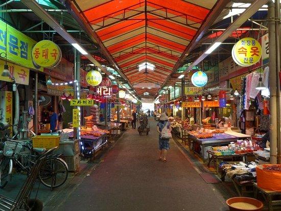 Gyeongdong Market: 市場内-1