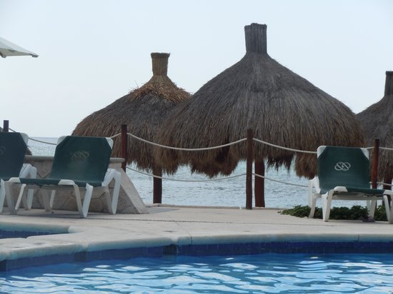 Occidental Grand Cozumel: view from pool