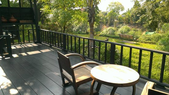 Marndadee Heritage River Village: The private terrace