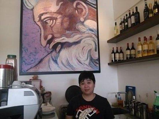 Pizzeria Michelangelo: stolen moment