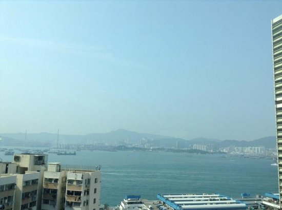 Hotel Jen Hong Kong: オーシャンビュー