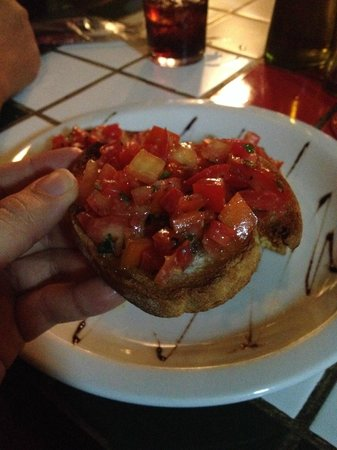 Restaurante e Pizzaria Terra Nostra : Bruschettas