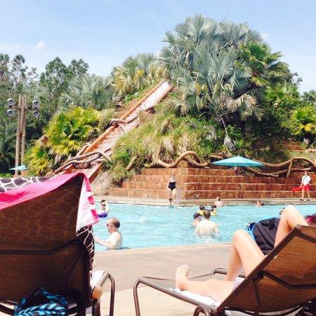 Disney's Coronado Springs Resort: Main pool