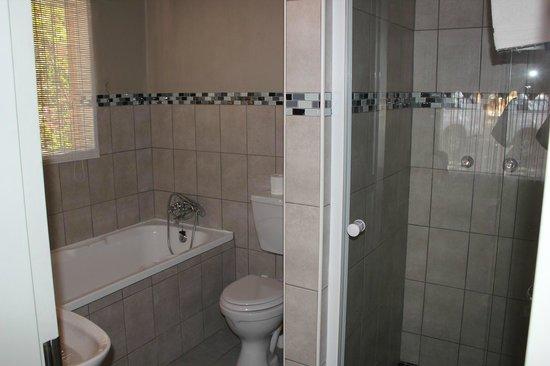 Hotel Pension Etambi: バスルーム