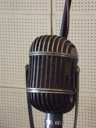 Sun Studio: Microphone detail