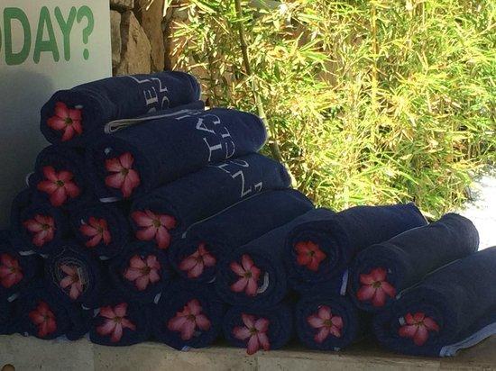 Occidental Nuevo Vallarta: Beach towels