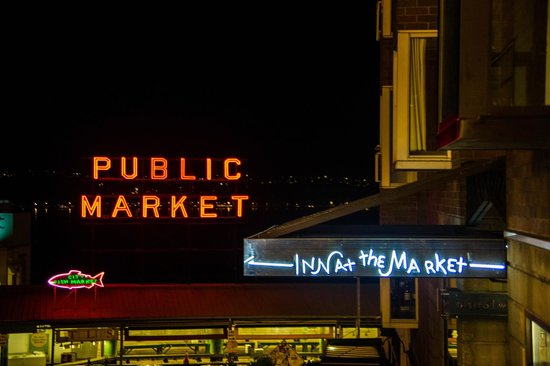 Inn at the Market: Proximity to the Pike Place Market