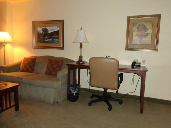 Staybridge Suites Denver International Airport: desk