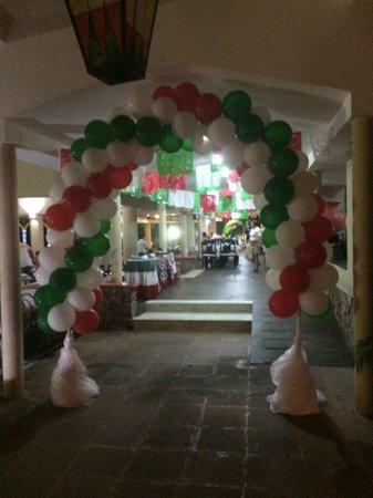Occidental Nuevo Vallarta : Buffet
